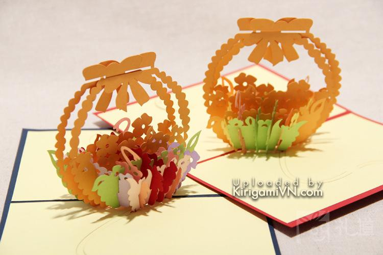 Gio hoa flower basket pattern preview 3