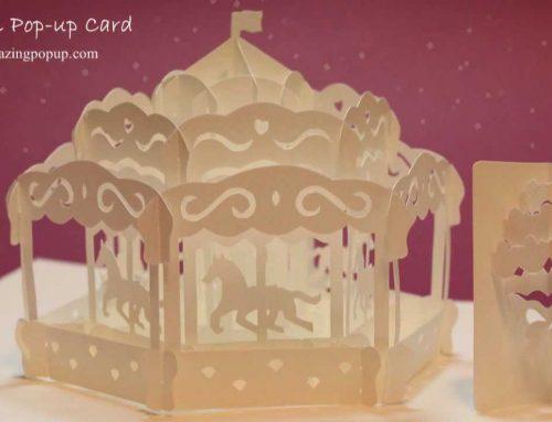 Carousel Pop-ups Card Book – Đu quay Xe ngựa