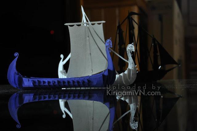Viking Ship pattern designed by C0ngth4nhpk.